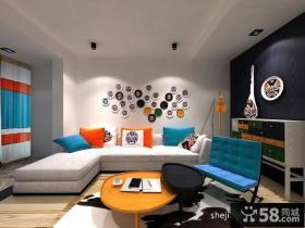 60平小户型客厅装修效果图现代风
