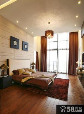15平米大主卧室软包背景墙装修效果图