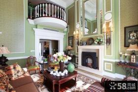 优质别墅客厅装修效果图大全2013图片