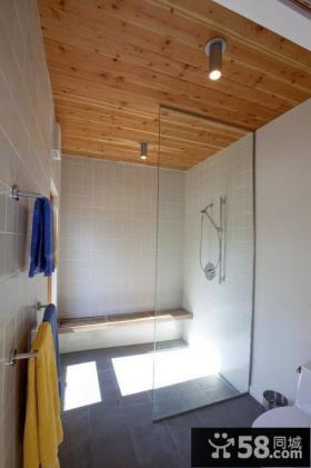 美式乡村装修图片 美式现代卫生间装修效果图