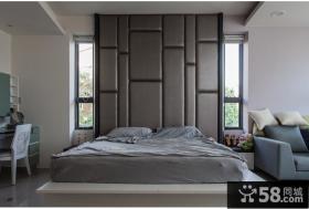 现代时尚质感卧室设计装修