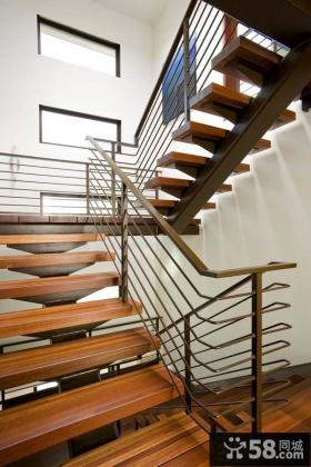 别墅楼梯设计图片欣赏