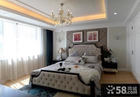 简欧风格两室两厅主卧室装修效果图