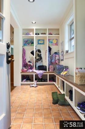 进门玄关鞋柜设计效果图欣赏