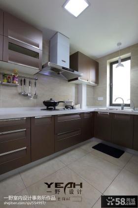 现代家装厨房设计效果图