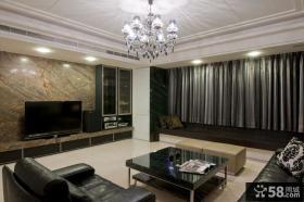 家装室内豪华客厅电视背景墙图片大全