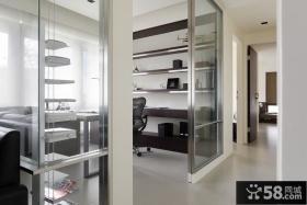 优质80平米简约单身公寓室内设计图片