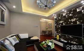 现代风格三居装饰室内效果图片