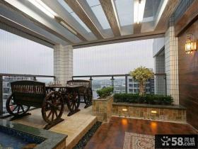 豪华别墅创意阳台设计图片大全