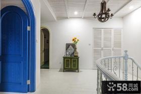 纯美地中海风格楼梯间装修设计