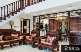古典大气中式客厅装修