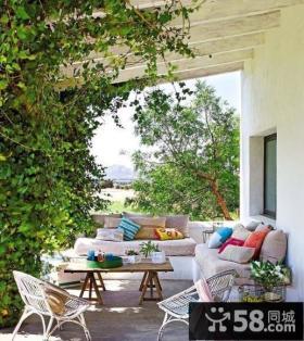 2013优质小阳台花园设计效果图片欣赏