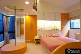 现代风格大卧室装修效果图大全2013图片