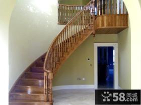 别墅弧形楼梯装修设计图