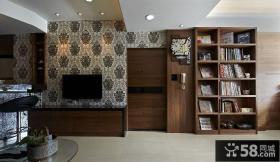 现代美式装修室内电视背景墙图大全