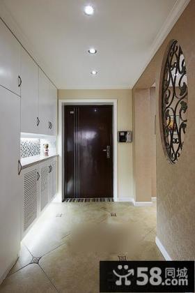 美式家居玄关装修设计
