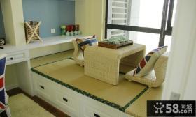 90平米简约美式两居室设计效果图片