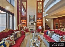 大气奢华欧式客厅设计