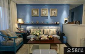 美式风格现代二居室装修图片