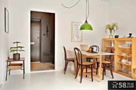 50平小户型餐厅装修效果图大全2012