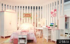 欧式风格儿童卧室家具图片