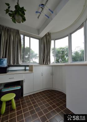 现代室内家居阳台设计装饰效果图片