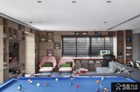 巴西清爽复式公寓休闲区