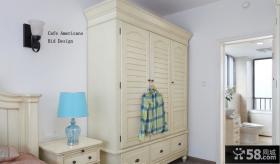 简欧风格卧室衣柜设计效果图