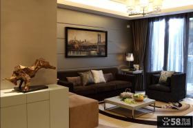 2013现代客厅沙发背景墙效果图欣赏