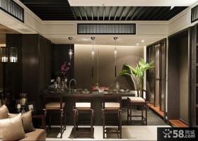 香港后现代风格餐厅吊顶装修效果图大全2012图片