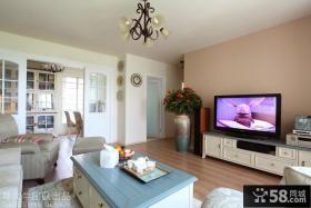 优质客厅电视背景墙装饰设计图