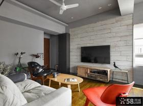现代复式设计室内效果图片