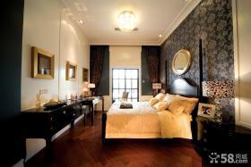 欧式主卧室壁纸装修效果图欣赏