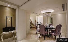 新古典复式家居餐厅设计图片