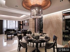 美式家居设计餐厅吊顶图欣赏