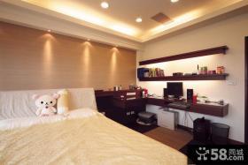 家装设计室内卧室书房图