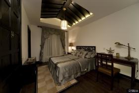 古典中式卧室吊顶效果图