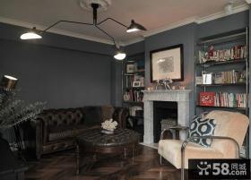 美式风格一居室装修设计图