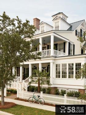 欧式风格经典别墅设计效果图欣赏
