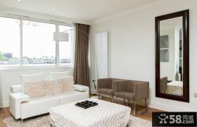 简约元素的美式风格装修效果图客厅图片