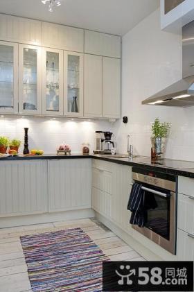 整体小厨房装潢设计效果图