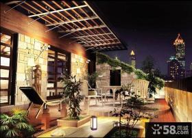 露天阳台花园设计