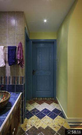 美式设计卫生间门大全