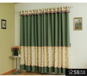 田园风格儿童房窗帘设计