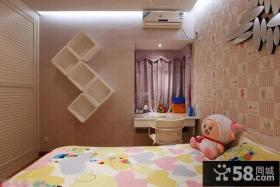 小户型儿童房墙面设计