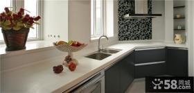 地中海田园风格室内厨房图片大全