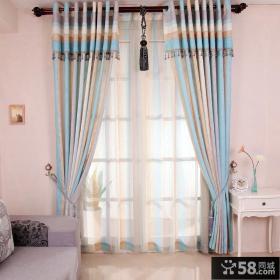 地中海风格儿童房窗帘装修效果图
