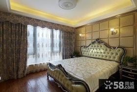 欧式家居主人卧室装修效果图大全