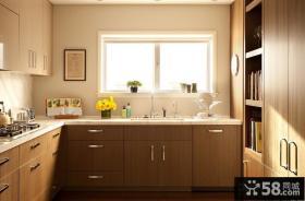 北欧厨房整体橱柜装修效果图