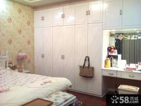 卧室简欧整体衣柜装修效果图